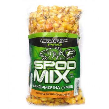 Спод микс Варенная смесь кукурузы, конопли, гороха, пшеницы, 750g
