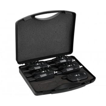 Набор электронных сигнализаторов поклевки Carp Pro Q5 4+1 С возможностью подключения cвингера