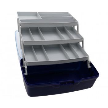 Ящик Fishing ROI 3-полочный (прозрачная крышка) 360x215x195
