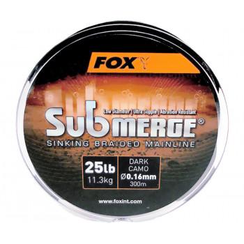 Шнур Fox Submerge Sinking Braided Mainline Dark Camo