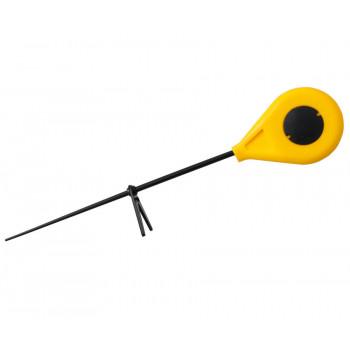Зимний удильник Flagman FIFR c подставкой желтая 0.27m