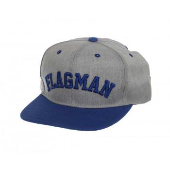 Бейсболка Flagman Casual Grey Blue