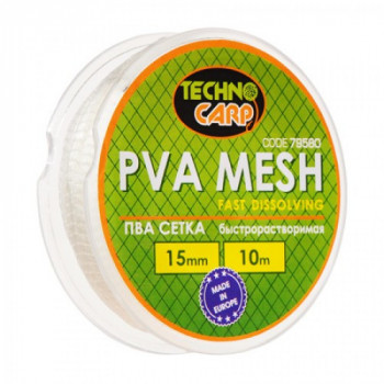 PVA сетка быстрорастворимая Технокарп 10m 15mm