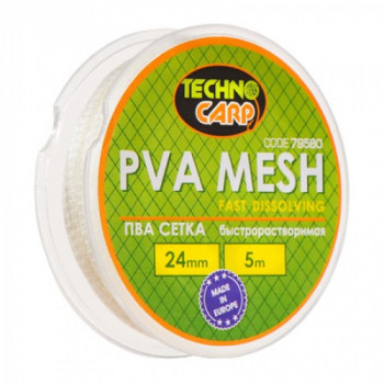 PVA сетка быстрорастворимая Технокарп 5m 24mm