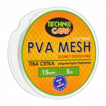 PVA сетка медленно растворимая Технокарп 5m 15mm
