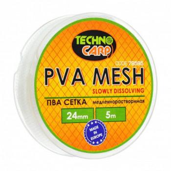 PVA сетка медленно растворимая Технокарп 5m 24mm