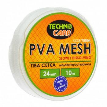 PVA сетка медленно растворимая Технокарп 10m 24mm