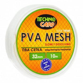 PVA сетка медленно растворимая Технокарп 10m 32mm