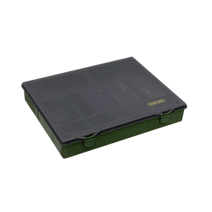 Коробка карповая Carp Pro 6 коробок и поводочница 360x300x60mm