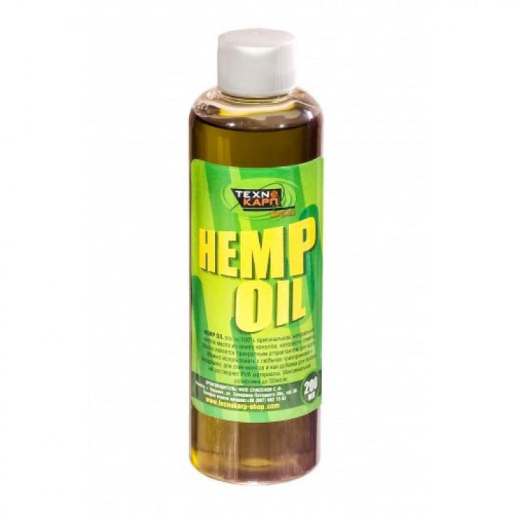 Конопляное масло Технокарп Hemp Oil 0.2L Natural