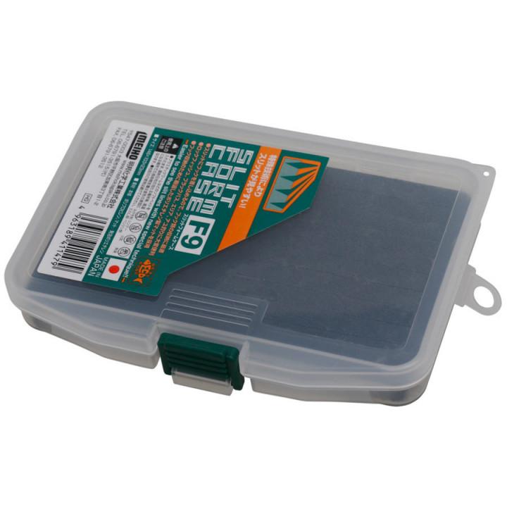 Коробка Meiho Slit Form Case F-9