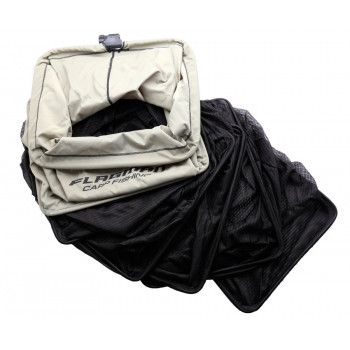 Садок прямоугольный Flagman Keepnet 50x40см black color Double thick nylon mesh