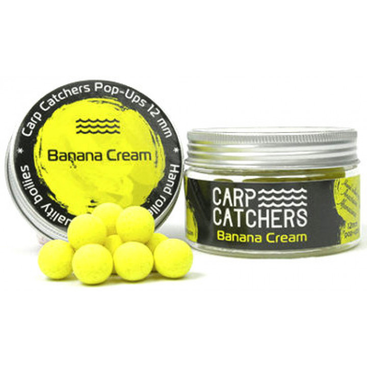 Бойлы Carp Catchers Pop-Up Banana Cream 12mm