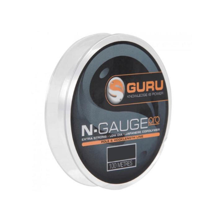 Леска Guru N-Gauge Pro 100m 0.09mm