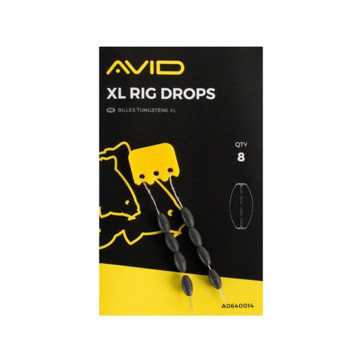 Стопор подгрузочный Avid Carp XL Rig Drops