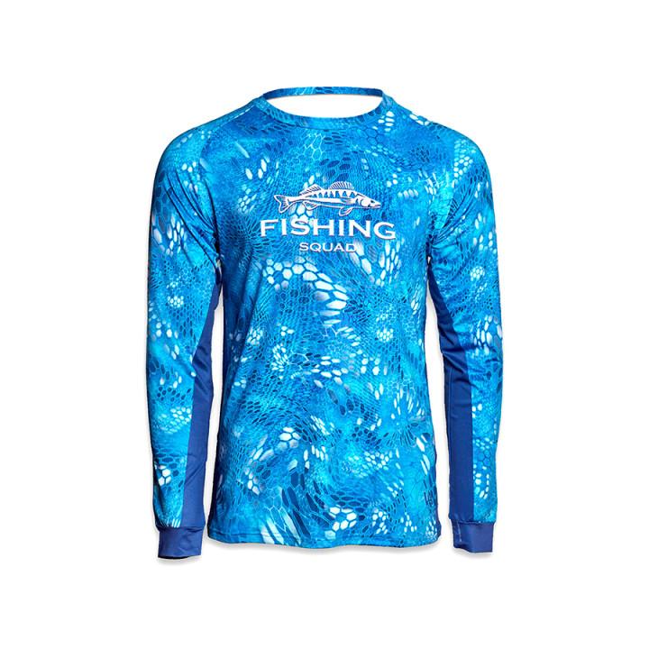 Дышащая джерси мужская Veduta Reptile Skin Blue Water L