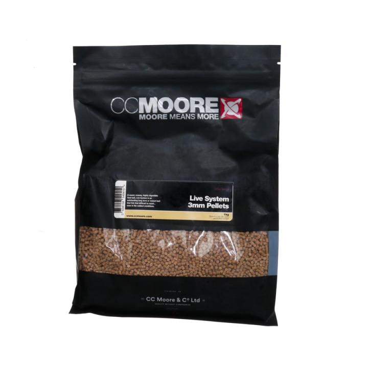Пеллетс CC Moore Live System Pellets 1kg 3mm