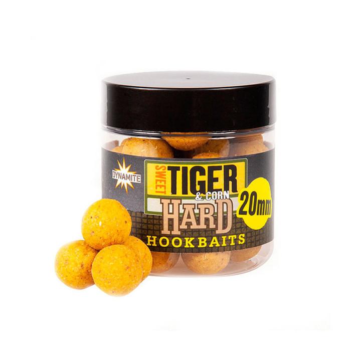 Бойлы Dynamite Baits Hard HookBait Sweet Tiger&Corn 20mm