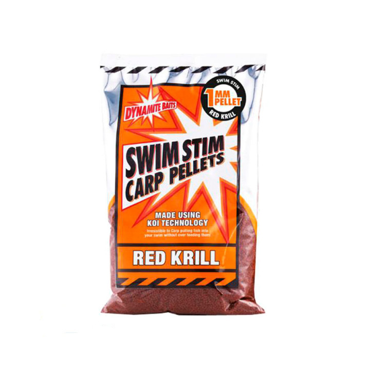 Пеллетс Dynamite Baits Swim Stim Red Krill Pellets 1mm 900g