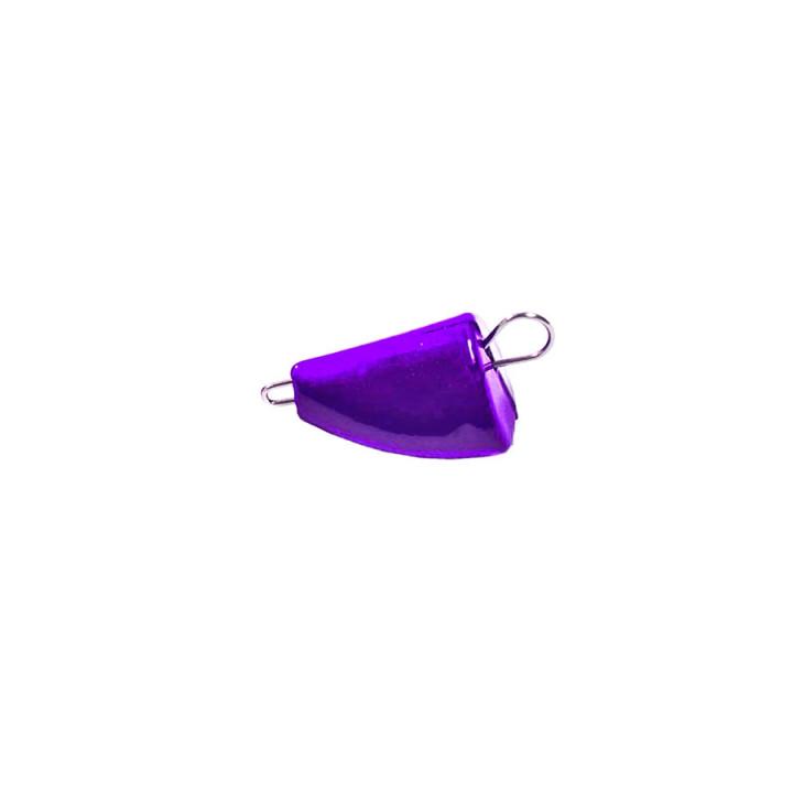 Грузило Днипро-Свинец Пуля Active фиолетовый 4g