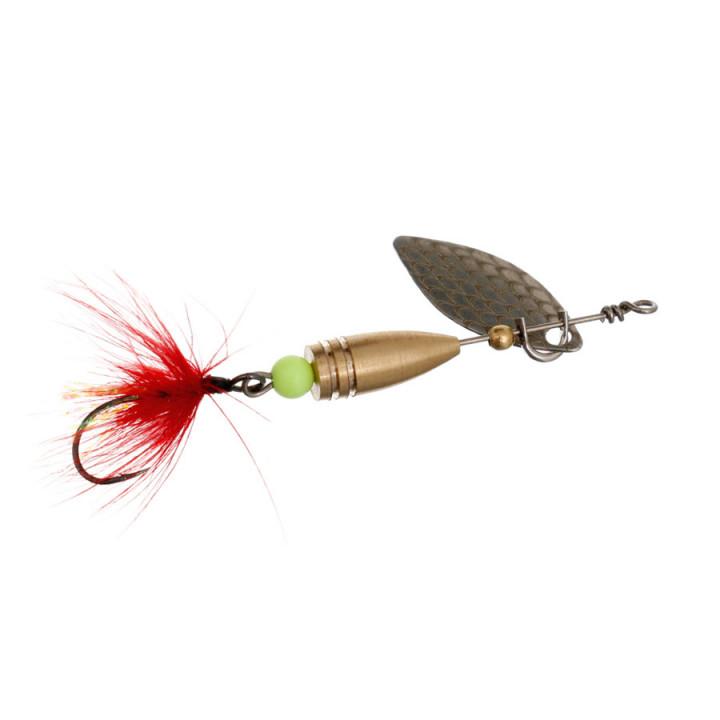 Блесна Flagman Wasp 2.6g Серебро Красная муха