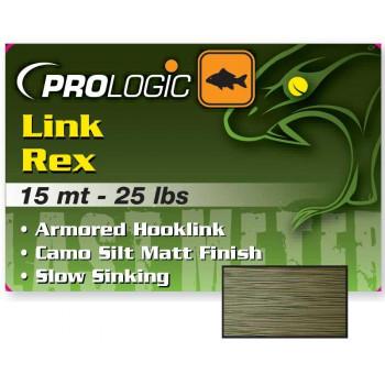 Поводковый материал Prologic Link Rex 15m 40lbs Camo Silt