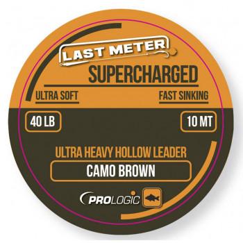 Лидкор Prologic Supercharged Hollow Leader 7m 50lbs Camo Brown
