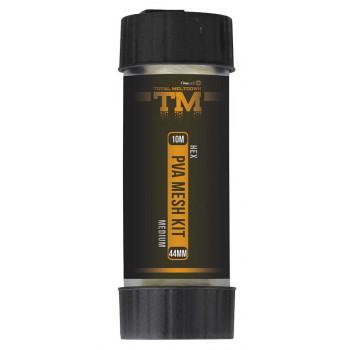 ПВА-сетка Prologic TM PVA Hex Mesh Kit 10m 18mm в тубусе с резаком