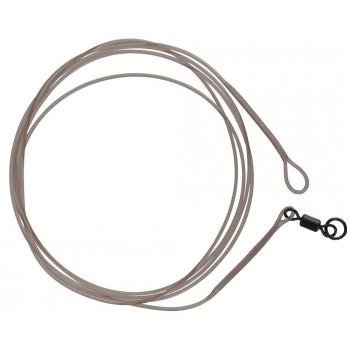 Лидер Prologic LM Mirage Loop Leader 100cm 45lbs W/Ring Swivel 2pcs