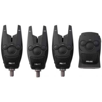 Набор сигнализаторов Prologic BAT+ Bite Alarm Set 3+1 разноцветный