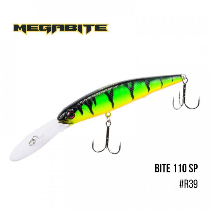 Воблер Megabite Bite 110 SP 110mm 23.6g  до 6m R39