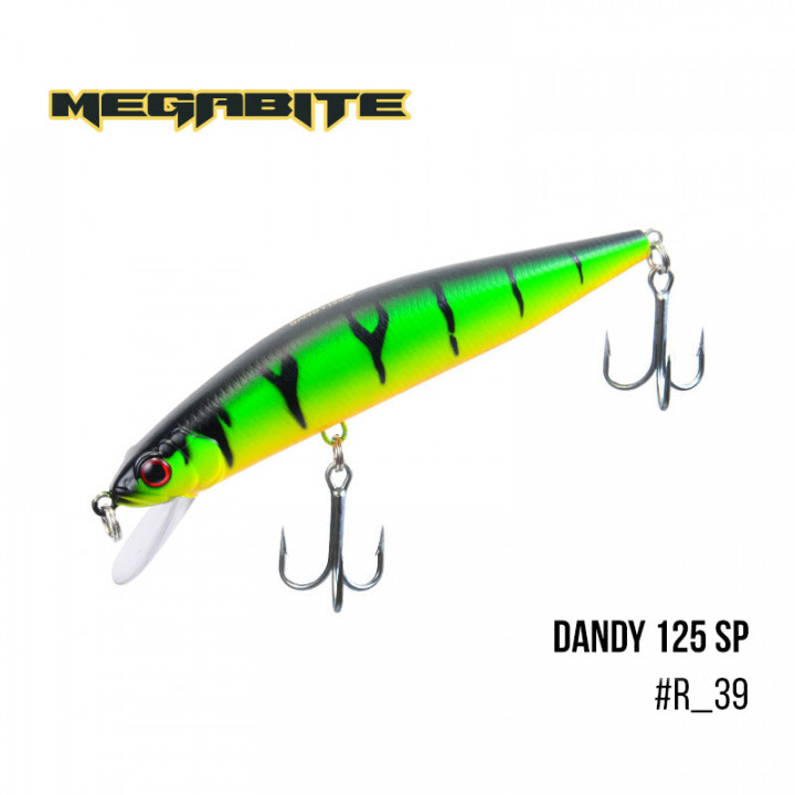 Воблер Megabite Dandy 90mm 11.4g до 1m R39
