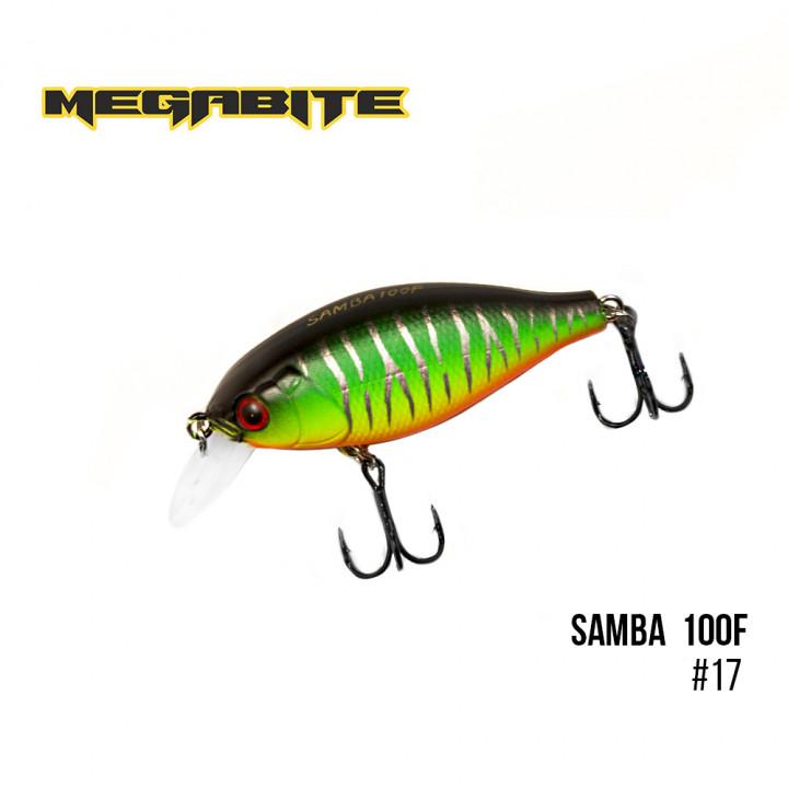 Воблер Megabite Samba 60mm 12.5g до 1m 17