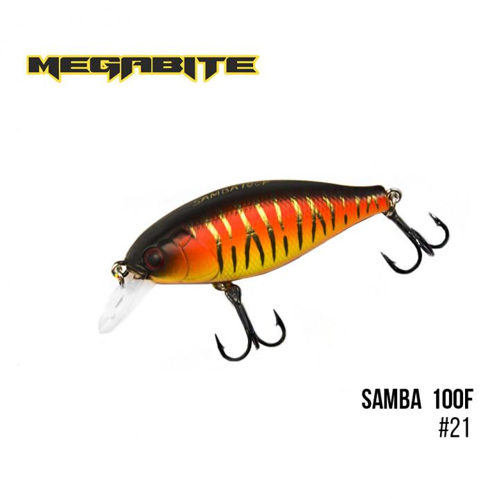 Воблер Megabite Samba 60mm 12.5g до 1m 21
