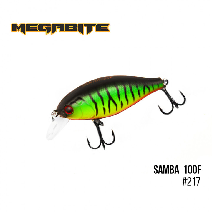Воблер Megabite Samba 60mm 12.5g до 1m 217