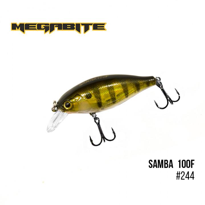 Воблер Megabite Samba 60mm 12.5g до 1m 244