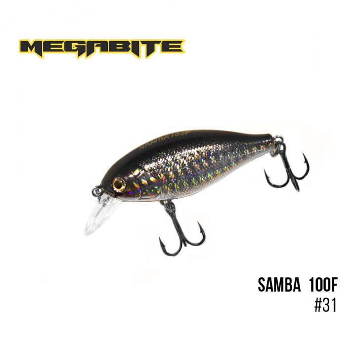 Воблер Megabite Samba 60mm 12.5g до 1m 31