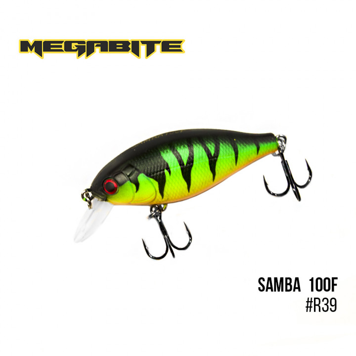 Воблер Megabite Samba 60mm 12.5g до 1m R39