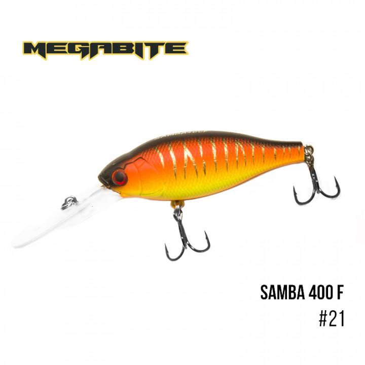 Воблер Megabite Samba 70mm 17.5g до 4m 21