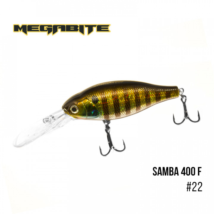 Воблер Megabite Samba 70mm 17.5g до 4m 22