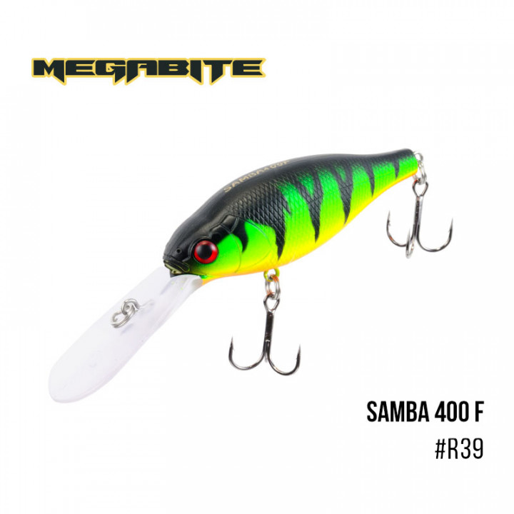 Воблер Megabite Samba 70mm 17.5g до 4m R39