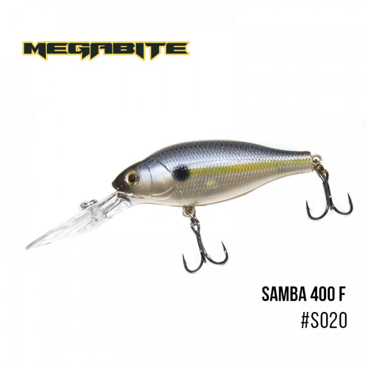 Воблер Megabite Samba 60mm 12.5g до 1m S020