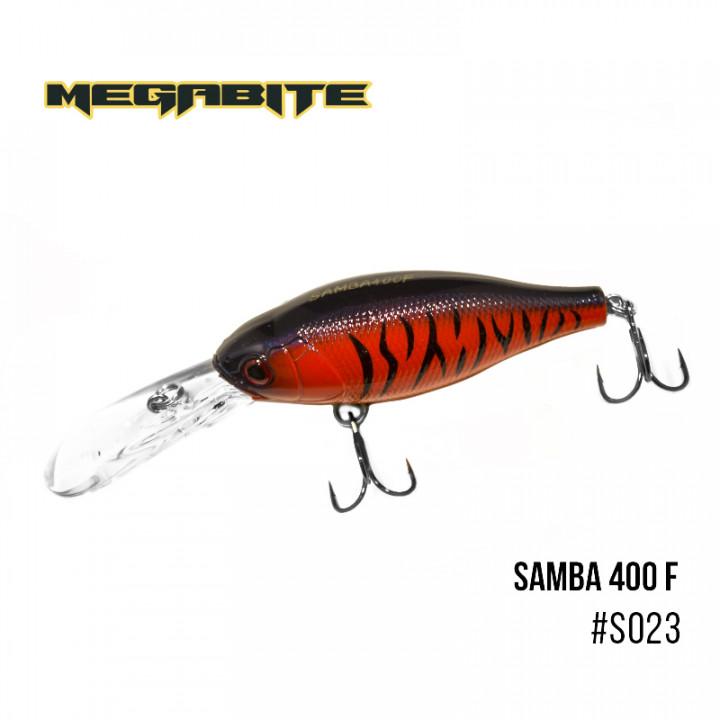 Воблер Megabite Samba 70mm 17.5g до 4m S023