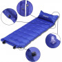 Самонадувающийся коврик KingCamp Base Camp XL blue