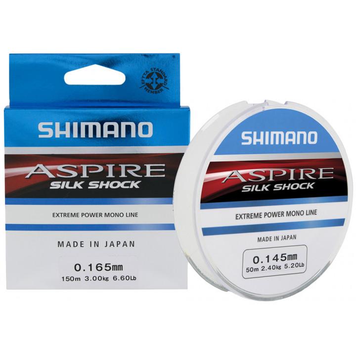 Леска Shimano Aspire Silk Shock 50m 0.10mm