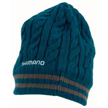 Шапка Shimano Breath Hyper +°C Flieece Knit ц:dark turq