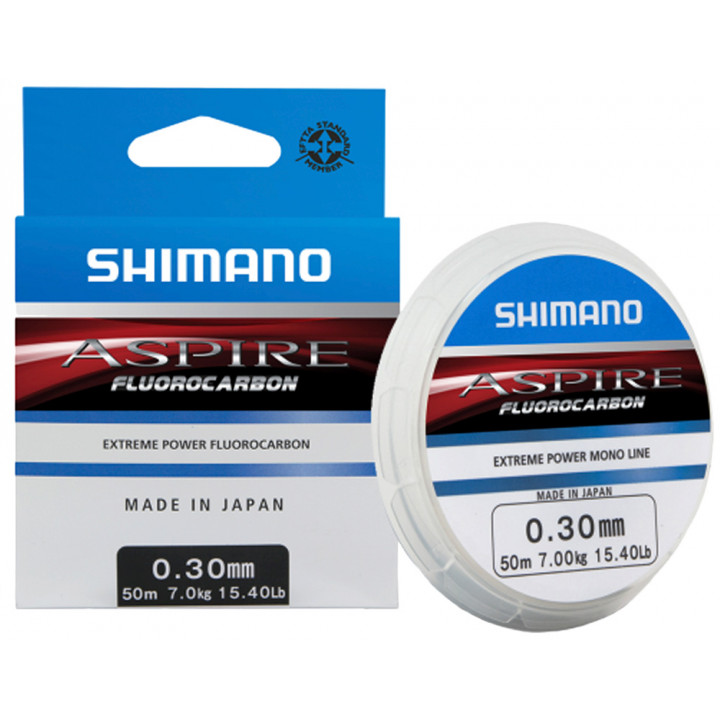 Флюорокарбон Shimano Aspire Fluorocarbon 50m 0.37mm 11.0kg