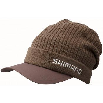 Шапка Shimano Breath Hyper +°C Knit Cap 18 ц:cacao brown