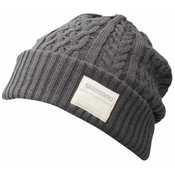 Шапка Shimano Knit Watch Regular Size ц:charcoal