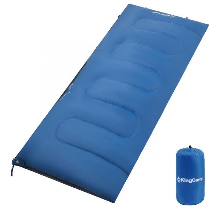 Спальник KingCamp Oxygen dark blue, левая
